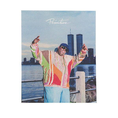 Primitive Biggie Twin Tower - Sticker