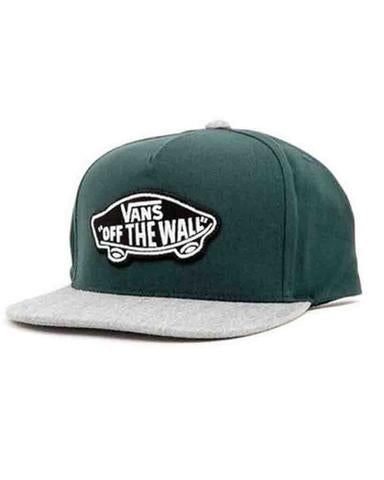 Vans Boys Classic Patch Snapback - Hat Darkest Spruce