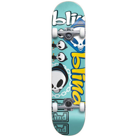 Blind Tantrum FP Teal 8.0 - Skateboard Complete