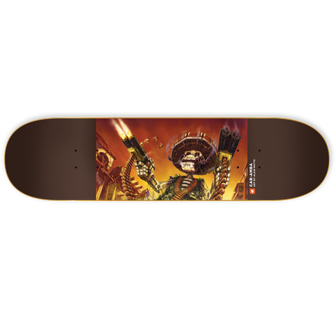 ULC Car-Amba 8.5 - Skateboard Deck