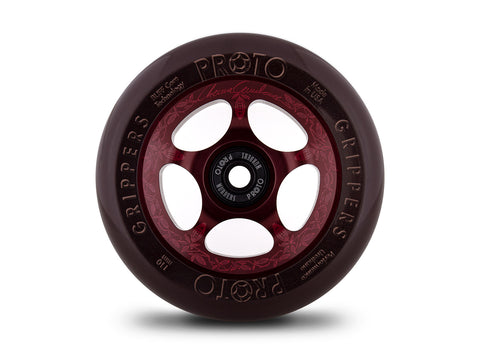 Proto Chocoholic Grippers Chema Cardenas Sig. (PAIR) - Scooter Wheels Front View