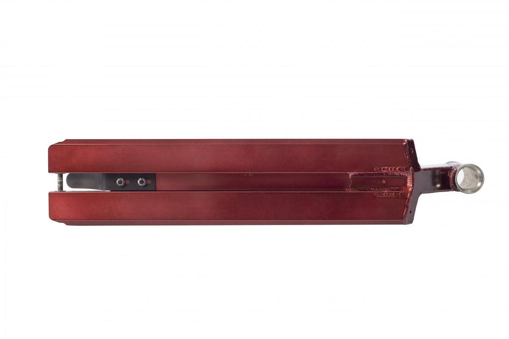 TSI Sledge V3 Trans Red Limited, bottom view