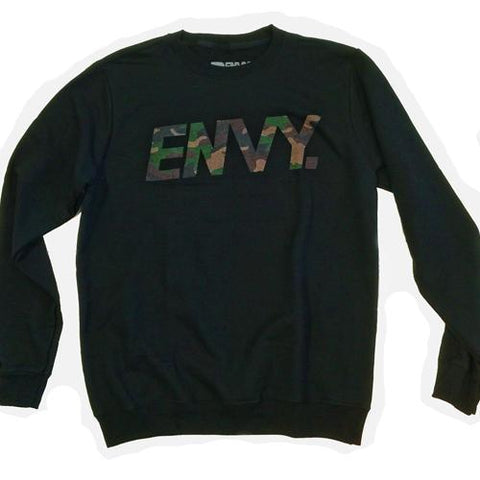 Envy Camo Logo - Sweater
