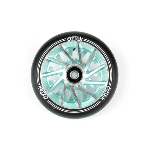 Aztek Ermine 110mm (PAIR) - Scooter Wheels Aqua