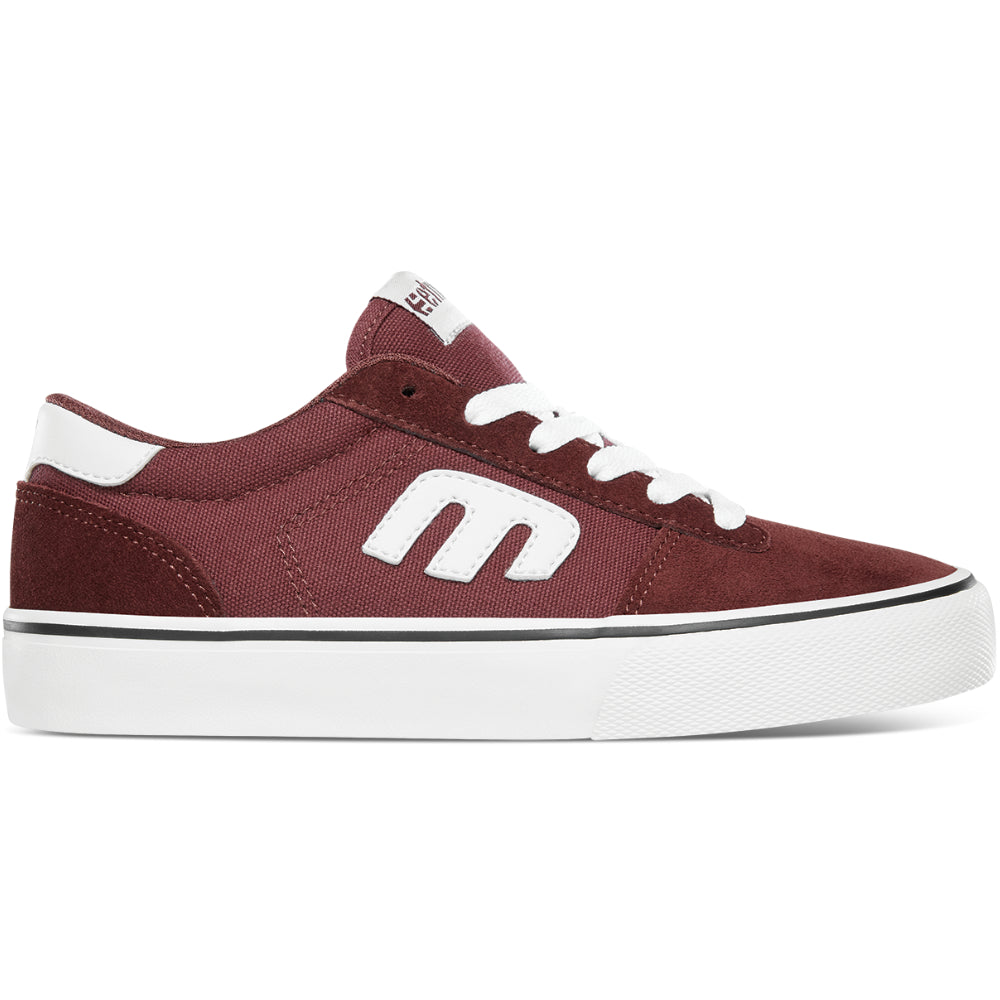 Etnies Kids Calli Vulc Burgundy - Shoes