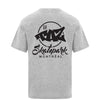 TAZ X-Logo T-Shirt Grey Back