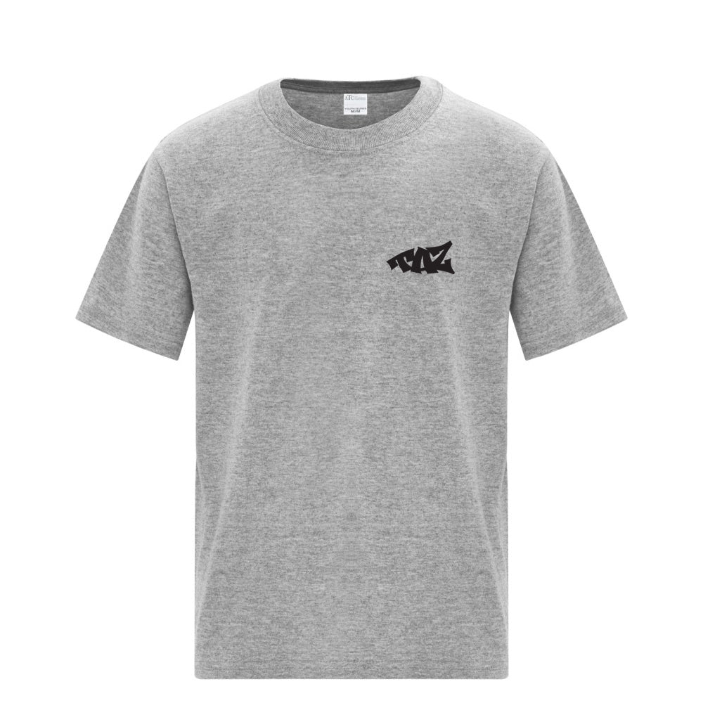 TAZ Youth T-Shirt Grey Front