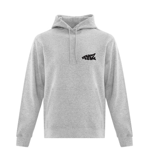 TAZ Classic Hoodie Grey Front