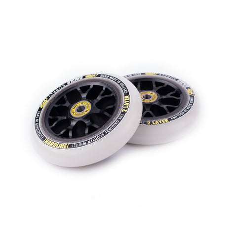 Eagle X6 Black Core 2 Layers Hardline Snowballs (SINGLE) - Scooter Wheel