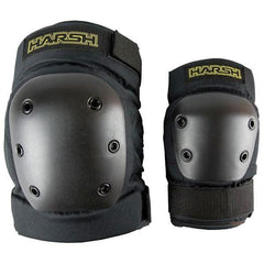 Harsh Adult Knee And Elbow Pads - Hardshell