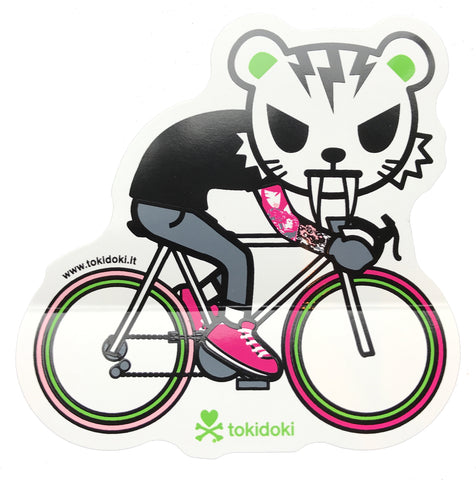 Tokidoki Tiger Bike - Sticker