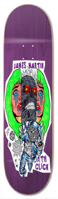 ATM James Martin Terminator 8.5 - Skateboard Deck