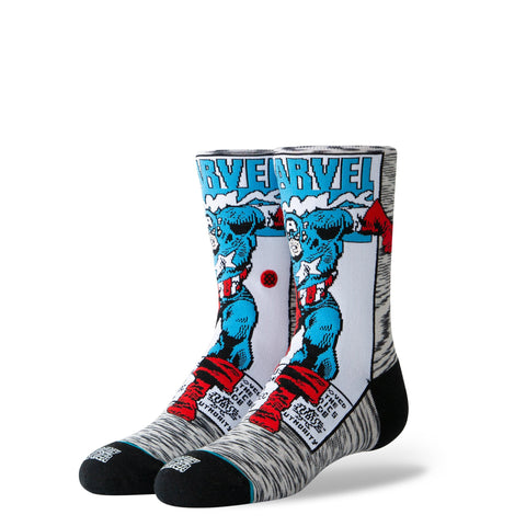 Stance Kids Captain America Comic K - Socks