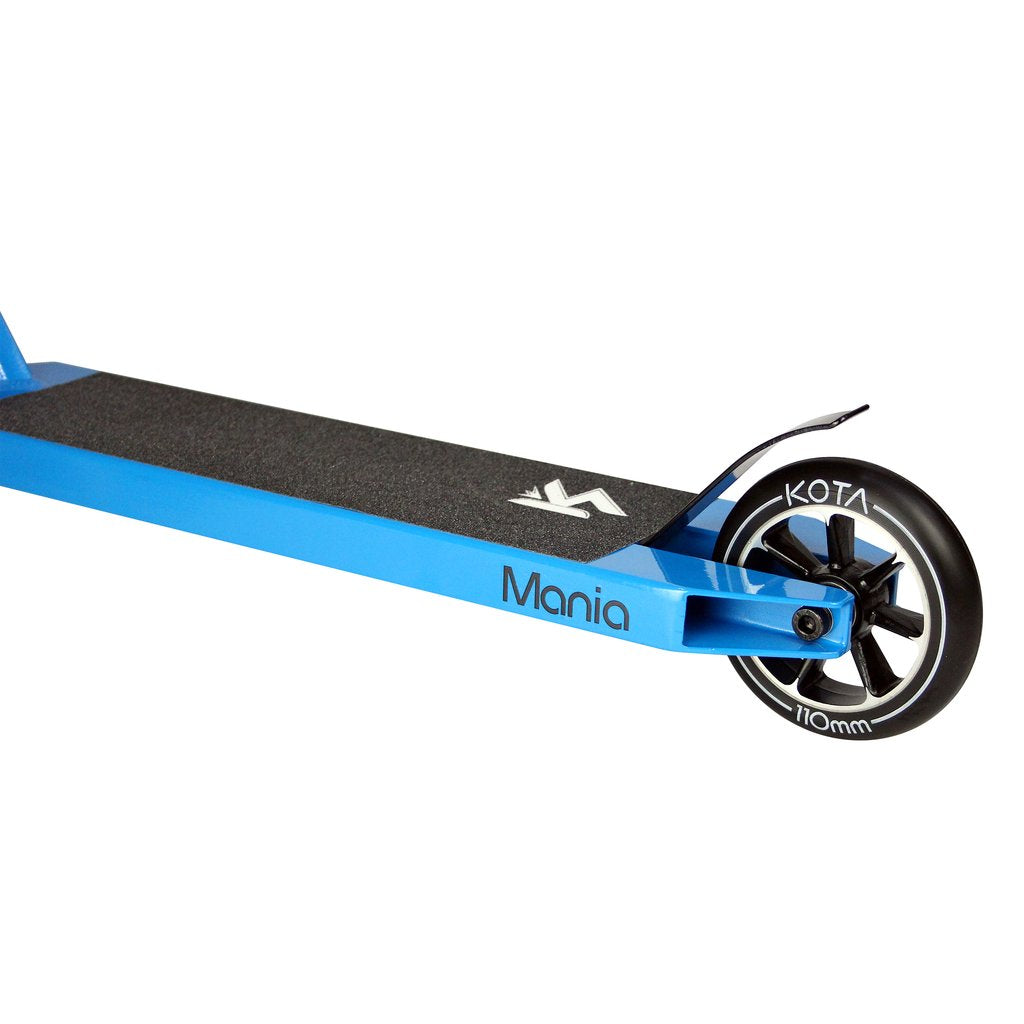 Kota Mania - Complete Scooter, Blue White Side Deck Side