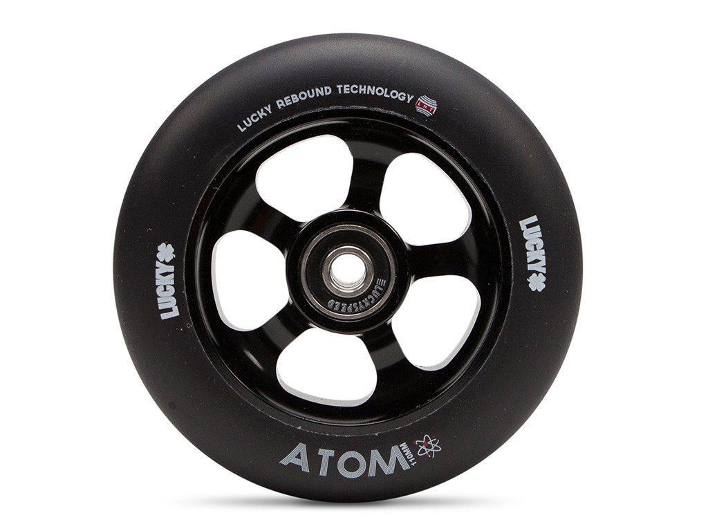 Lucky Atom 110mm Wheel - Black Urethane