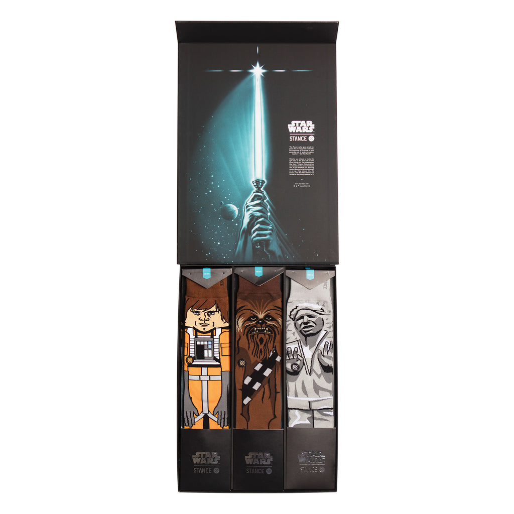 Instance Socks Starwars The Force 2 Black Kit
