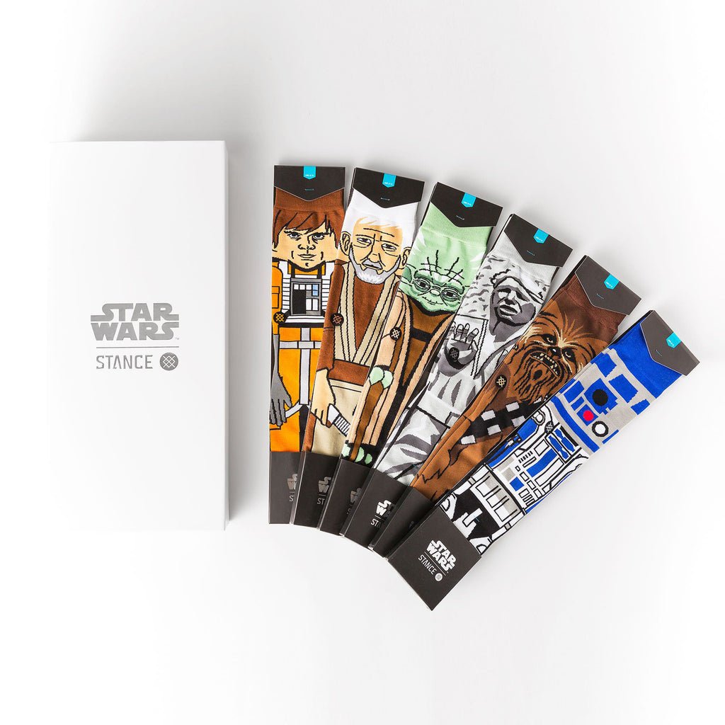 Instance Socks StarWars Light Side Black