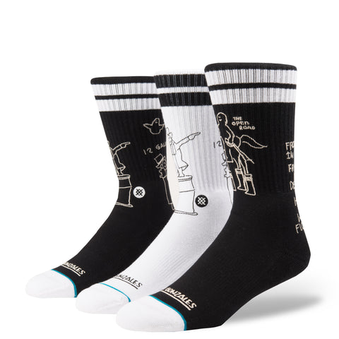 Instance Marc Gonz Shell - Socks Black