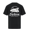 TAZ X-Logo T-Shirt Black Back
