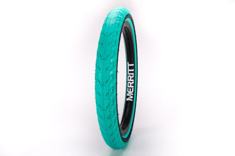 Merritt Option Teal - BMX Tire Aquafresh