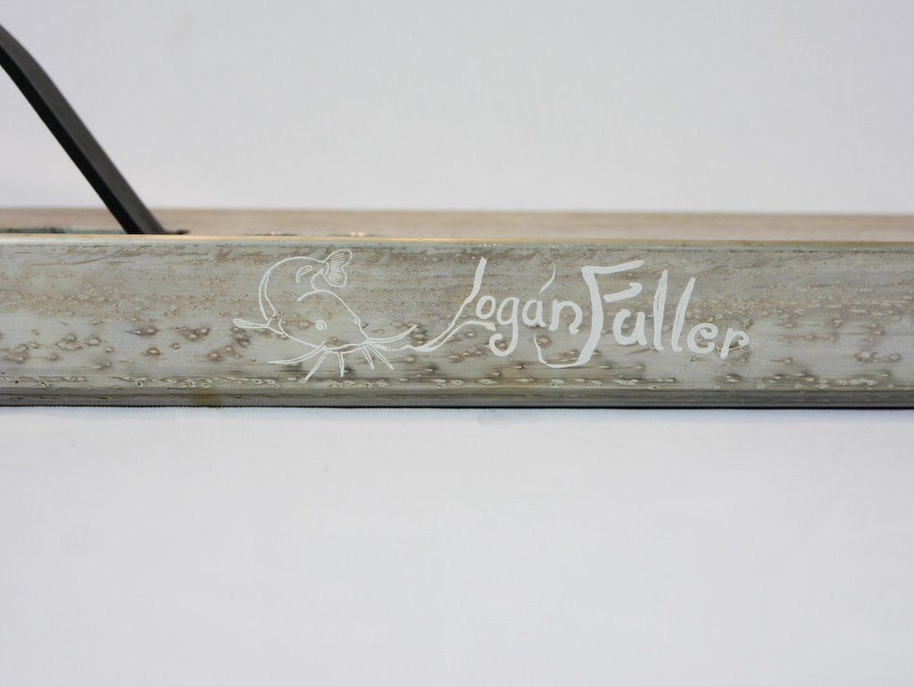 Aztek Fountain Logan Fuller Sig., Scooter Deck, Signature View