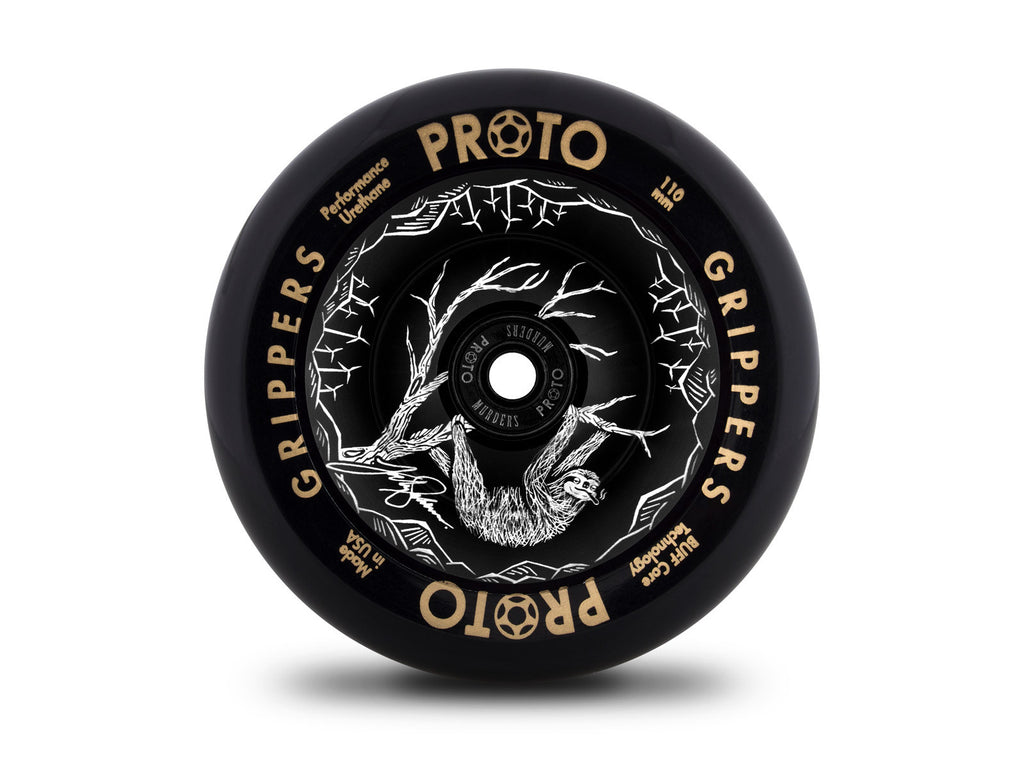 Proto, Slumped, Grippers 110mm (PAIR), Scooter Wheels