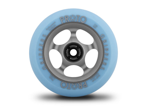 Proto Faded Grippers Pastel Blue / Ghost Grey, Scooter Wheels