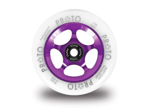 Proto Slider - White on Purple