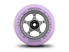 Proto Faded Sliders Pastel Purple / Ghost Grey, Scooter Wheels