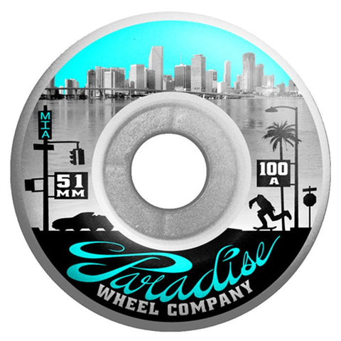 Paradise Downtown Series, Skate Wheels, 51mm