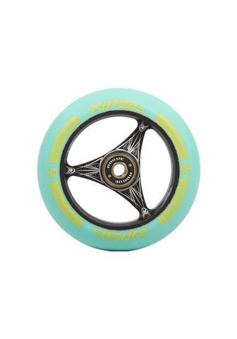 Rogue Ripper Wheels (PAIR), Scooter Wheels, Aqua Black
