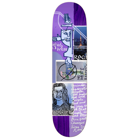Real Ishod Postcards From Mark 8.12 - Skateboard Deck