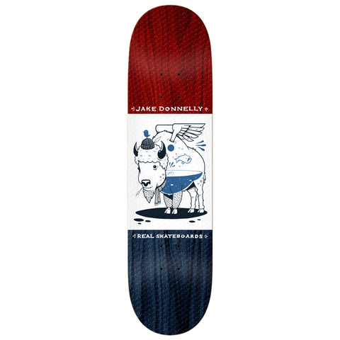 Real Busenitz Jeremy Fish X Real 8.25 - Skateboard Deck
