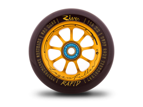 River The Angler Rapids Logan Fuller Sig. (PAIR) - Scooter Wheels One Wheel