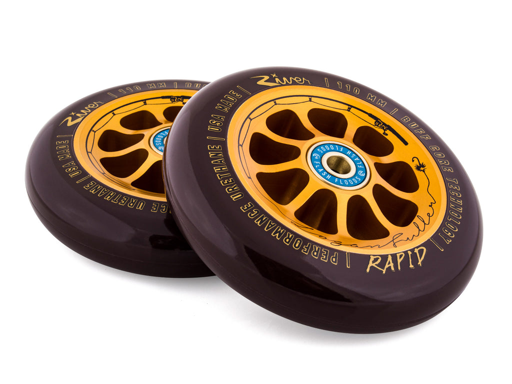 River The Angler Rapids Logan Fuller Sig. (PAIR) - Scooter Wheels The Pair