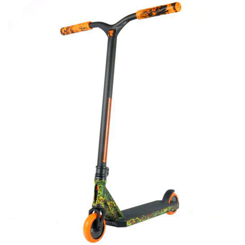 Root Industries Invictus Radiant - Scooter Complete Black Orange Green