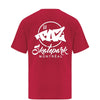 TAZ X-Logo T-Shirt Red Back