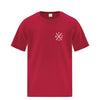 TAZ X-Logo T-Shirt Red Front