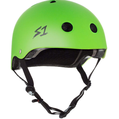 S1 Lifer Matte Bright Green CERTIFIED - Helmet