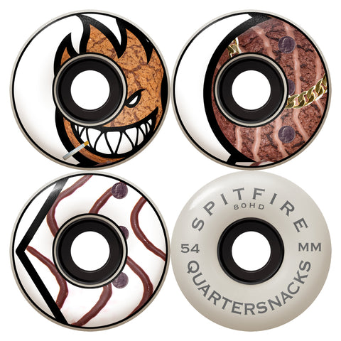 Spitfire X Quartersnacks Classic Formula4 80HD - Skateboard Wheels