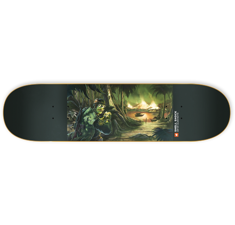 ULC Shell Shock - Skateboard Deck