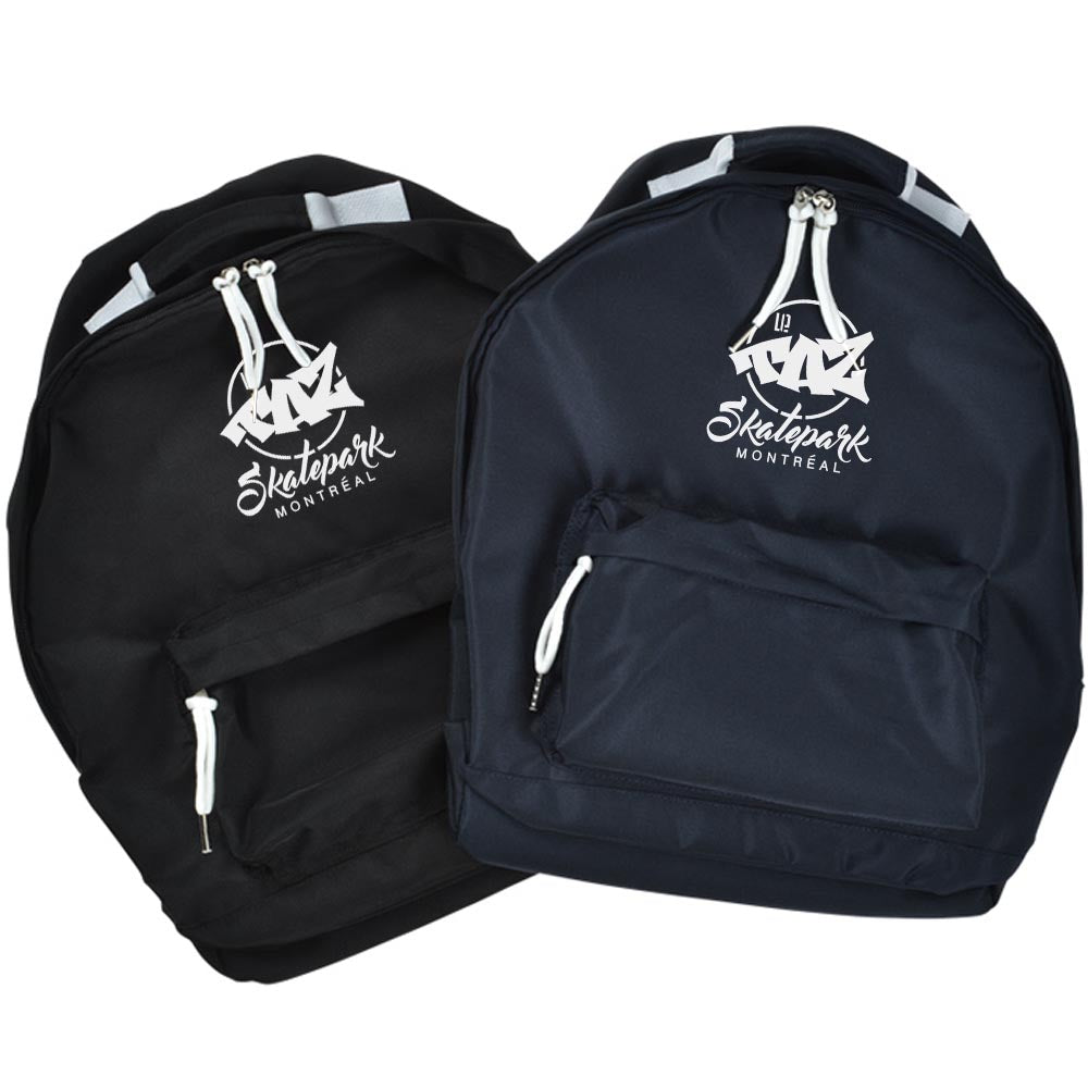 Taz Backpack - Bags 2 Colors Black Marine Noir