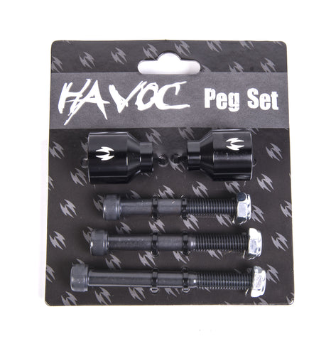 Havoc - Scooter Pegs Black