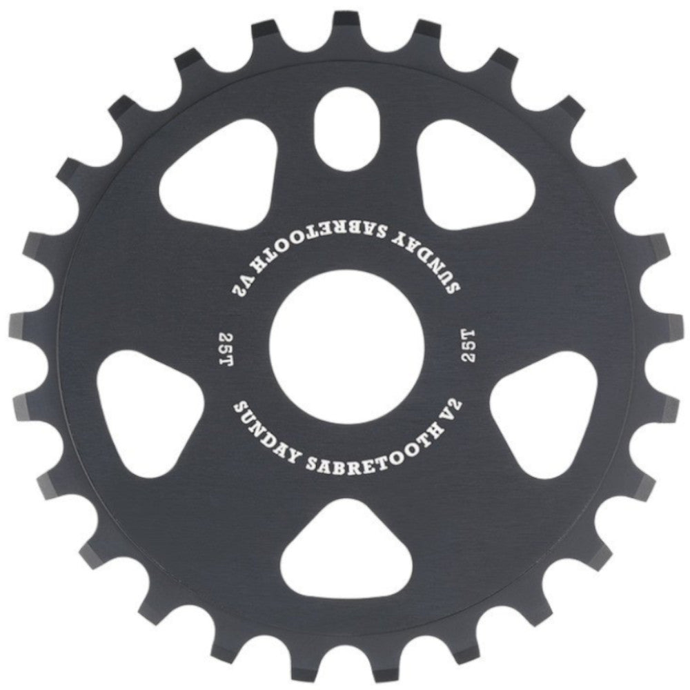 Sunday Sabretooth V2 Black 25T- BMX Sprocket