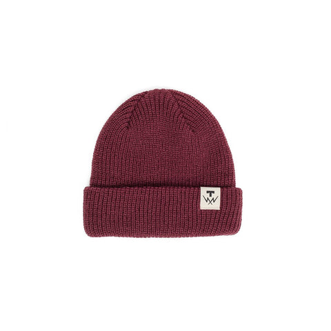 Tilt T-Bolt - Beannie Cream Burgundy