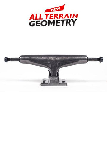 Tensor Alum Reg Gloss Clear Black - Skateboard Trucks