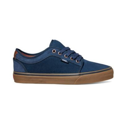 Vans Youth Chukka Low Rich Navy / Gum - Shoes