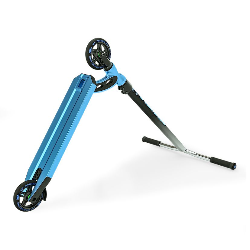 MGP VX8 Team, Scooter Complete, Blue, Bottom