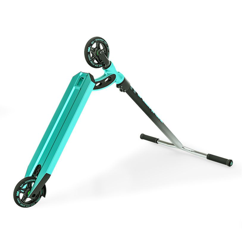 MGP VX8 Team, Scooter Complete, Turquoise, Bottom