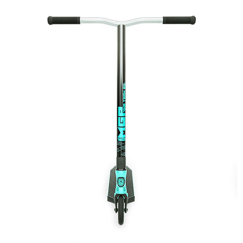MGP VX8 Team, Scooter Complete, Turquoise, Front
